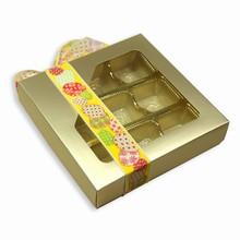 cc584 boîte PLATINE 1/2lb carré 16ct