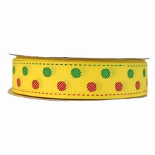 RB07 ribbon grosgrain yellow