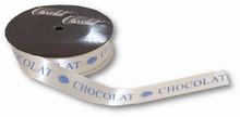 rc50 ruban CHOCOLAT blanc-bleu