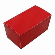 ccm889 ballotin rouge glacé