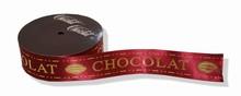 rc67 Ruban Chocolat bordeaux-or