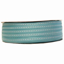 gg6 Grosgrain aqua ribbon