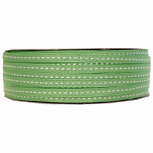 gg5 Grosgrain green ribbon