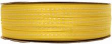 gg3 Ruban grosgrain lacet jaune