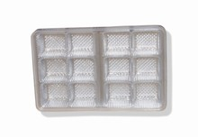 mp12cs Clear plastic trays