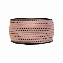 gg9 Grosgrain pink and brown ribbon