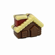 K055 Log Cabin Magnetic Mold