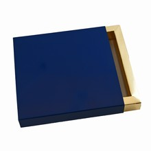 E9541g Navy blue sleevebox for 9 choc or 3 bars