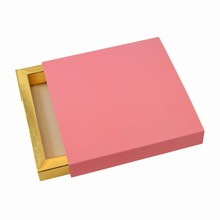E9189g Light Pink Sleevebox for 9 choc/bars