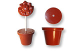 art14590 chocolate mold flower pot