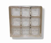 mp9s Silver 9pc plastic tray