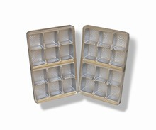 mp12s Silver 12pc plastic tray