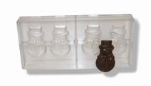 x863 chocolate mold Snowman