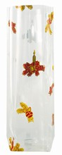 4171/3 Gold and Red Christmas Candles Cello Bag