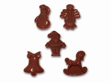art14761 chocolate mold Christmas