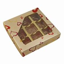 ccv211 1/2lb square Platinum Valentine