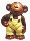 H551031 Monkey in Overalls mold