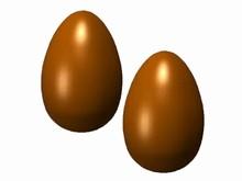 drc1651 chocolate mold egg