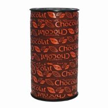 RB154 ruban chocolat orange