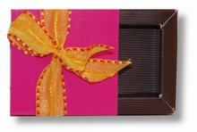 Sleevebox for 1 chocolate fuschia