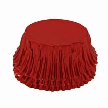 Oval metallic red BULK