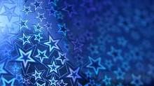 feuille texture étoiles