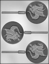 Dragon lollipop mold