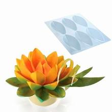 20-1010 Moules chocolat Fleurs de lotus