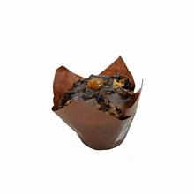 (s85mtb)caissettes tulipe brun (200)
