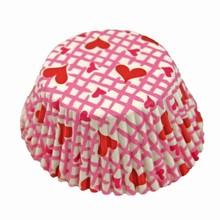 (s85mht1)caissettes à petits gâteaux valentin