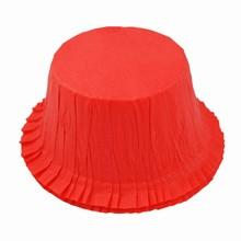 (s85mr5039)Caissettes à gâteau rigide rouges