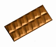 im146 chocolate bar mold
