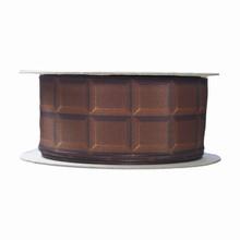 r247 Ruban imprimé tablette chocolat