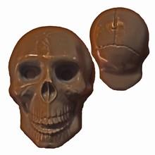 H34 Moule tête de mort