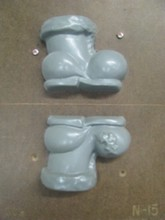 N15 Santa Claus Boot Mold