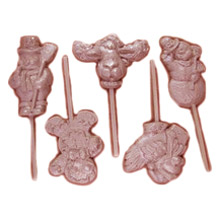 SUN270 Assorted Christmas Lollipop Mold