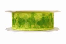 r606 Green Ducks Easter ribbon