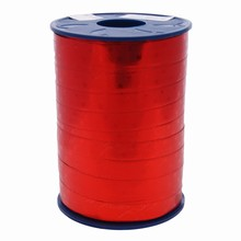 RB111 Ruban bolduc rouge métalliqe