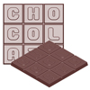 cw1685 moule chocolat
