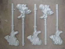 SUS49 Hockey Player Lollipop Mold