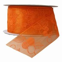 Apricot motif ribbon