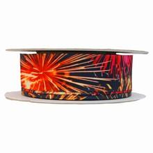 Fireworks print ribbon