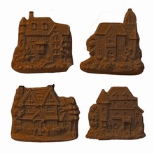 C2 Assorted Houses Mold