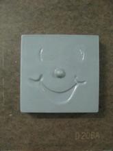 D206 Square smiley face bonbonnière mold