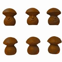 F81 3D Mushroom character mold