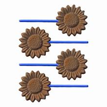 SUF53 Sunflower lollipop mold