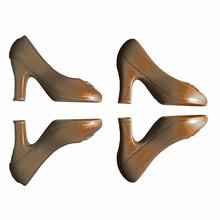G197 3D High heel shoe