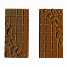 G222 Chocolate bar with cocoa pods mold