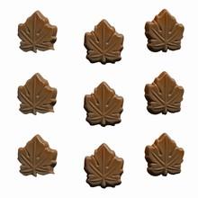 I3 Canadian Maple Leaf bitesize mold