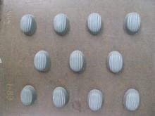 I89 Oval ridged bitesize mold